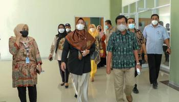 DPR RI Tinjau Langsung RSUD Dr. (H.C) Ir. Soekarno Provinsi Babel