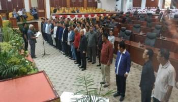 DPRD Babel Gelar Gladi Bersih Persiapan Pelantikkan Anggota Dewan Terpilih