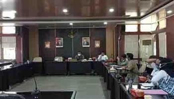 DPRD Babel Laksanakan Rapat Pansus LKPJ Bersama dengan OPD Pemprov Bangka Belitung