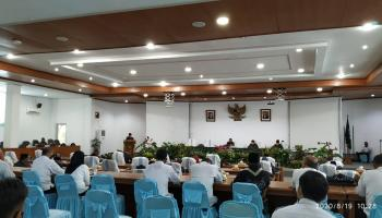 DPRD Bangka Gelar Paripurna Penyampaian 3 Raperda dari Bupati Bangka