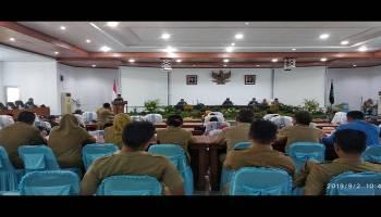 DPRD Bangka Gelar Rapat Paripurna RAPBD Tahun 2020, Bupati Janjikan 6 Prioritas