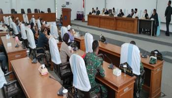 DPRD Bangka Gelar RDP dengan Masyarakat Sri Pemandang Terkait Penutupan Akses Jalan Oleh P2KTPS