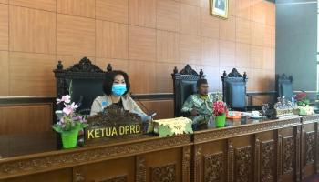 DPRD Bateng Ingin Sumbang Pikir Terkait Rencana Relokasi Anggaran Refocusing Covid-19 Oleh TAPD
