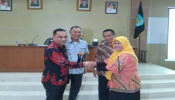 DPRD Belitung Studi Banding Perda Perangkat Daerah dan SITU ke Pemkab Bangka