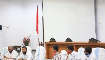 DPRD Kabupaten Bangka Terima Kunjungan Dari DPRD Kabupaten Belitung Dan Bangka Barat