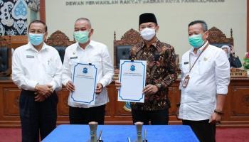 DPRD Kota Pangkalpinang Setujui Raperda tentang APBD & Nota Keuangan Tahun Anggaran 2021