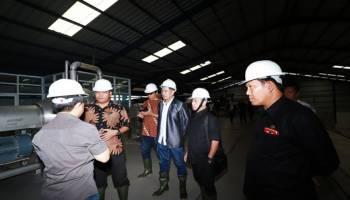 DPRD Babel Meninjau Pabrik Tapioka PT BAA