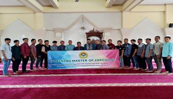 DPW LDII Babel Gelar Training Master of Ceremony, Cetak Profesi MC Profesional