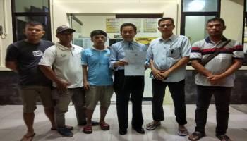 DR. Zaidan Lapor Balik Deddy Yulianto ke Polres Bangka