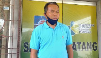 Dua Pasien Positif Covid-19 Asal Simpang Rimba Hari Ini Dibawa Ke Balai Karantina Provinsi