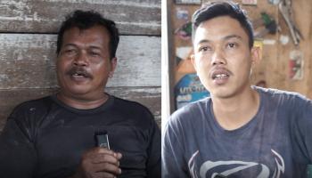 Dua Pemilik Bengkel Ini Yakin Tohari Bisa Memajukan Desa Kemuje