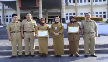 Dua Sekolah Dasar Terima Penghargaan Adiwiyata Dari Pemkot Pangkal Pinang