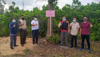 Dugaan Korupsi Pinjaman Kredit, Kejari Pangkalpinang Sita Tanah Asak