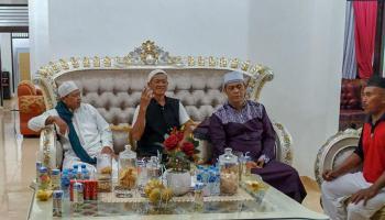 Dukung Syiar Agama, Ketua DPRD Bangka Terima Kedatangan KH Marsa Al Hafidz