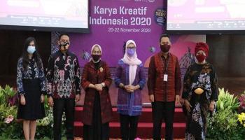 Dukung UMKM Indonesia, Melati Saksikan Pembukaan Karya Kreatif Indonesia 2020