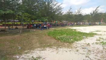Efek Toboali City On Fire, Pantai Kelisut Diserbu Ribuan Wisatawan
