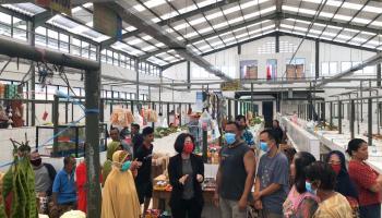 Ekonomi Anjlok, Pedagang Pasar Rakyat Koba Keluhkan Sewa Lapak Yang Tinggi