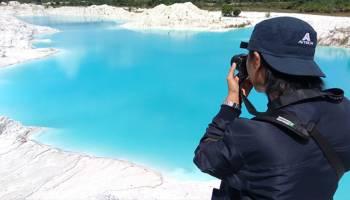 Empat Danau Cantik Paling Instagramable di Pulau Bangka