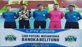 Empat Tim Melaju ke Semifinal Liga Futsal Nusantara Bangka Belitung