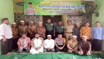 Eratkan Silaturahmi, Polsek Air Gegas Gelar Halalbihalal
