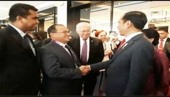 Erzaldi Dampingi Presiden Jokowi di KTT IMT- GT ke-11