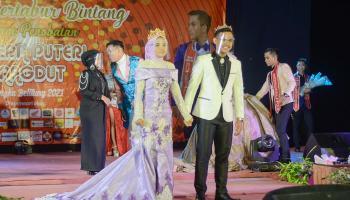 Farhan dan Anur Berhasil Sandang Gelar Putera dan Puteri Dangdut Bangka Belitung 2021
