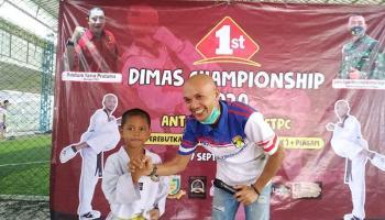 Fatan Al Farizi, Atlet Terbaik Kejuaraan 1St Dimas Championship 2020