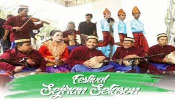 Festival Sejiran Setason  Menjaga dan Melestarikan Kesenian Daerah