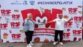 Food Milenial Festival Tahun 2020 Resmi Dibuka