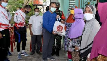 Forkopimda Babel Isi HUT ke-75 TNI dengan Kegiatan Sosial