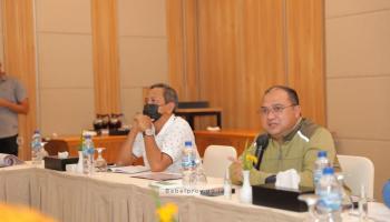 Forkopimda Gelar Rapat Lanjutan Untuk Teluk Kelabat Dalam