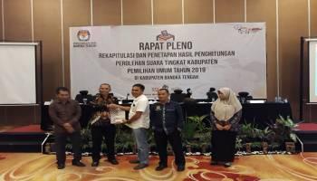 Formasi pimpinan DPRD Kabupaten Bangka Tengah Berubah, PDIP Geser Golkar di Posisi Ketua