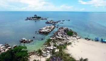 foto: wisata Pulau Lengkuas