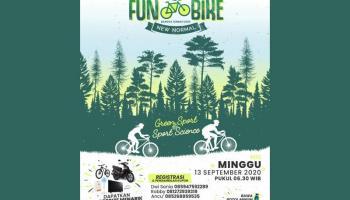 Fun Bike New Normal, Cara KONI Bateng Lawan Covid-19