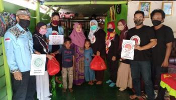 Gandeng BKPRMI, KPD Bangka Peringati HTI dengan Bagikan Ratusan Paket Makanan dan Takjil