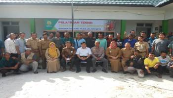 Gandeng BPP Lampung, Pemkab Bateng Beri Pelatihan Teknis Tematik Cabai Kepada 30 Kelompok Tani