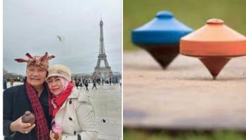 Gara-Gara Mencintai Gasing, Agus Bisa Keliling Benua Eropa