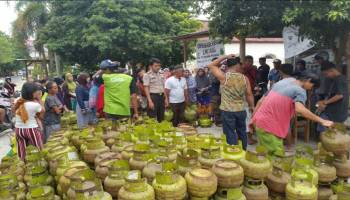 Gas Melon Langka Dipasaran, Pemprov Gelar Operasi Pasar di Enam Kecamatan