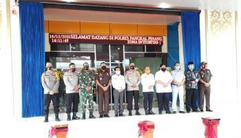Gedung Polresta Pangkalpinang Dibangun Pakai Dana Hibah APBD