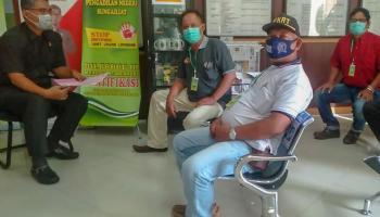 Gelar Audensi, Forum RT Bangka Datangi Pengadilan Negeri Sungailiat
