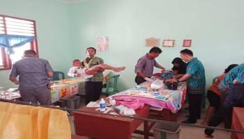 Gelar Khitanan Massal, Warga Apresiasi Mahasiswa KKN STKIP Muhammadiyah Bangka Belitung