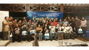 Gelar 'Kongke Bareng' Mitra Kerja Sriwijaya Air Group Tegaskan Eksistensi Serta Perkenalkan Pengurus Baru