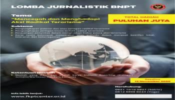 Gelar Lomba Menulis Cegah Terorisme, BNPT RI Siapkan Hadiah Puluhan Juta