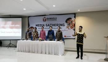 Gelar Media Gathering, Bawaslu Babel Gandeng Media Awasi Penyelenggaraan Pemilu 2019