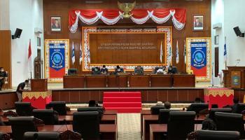Gelar Paripurna, DPRD Babel Sampaikan 17 Rekomendasi Terkait LKPJ Tahun Anggaran 2020