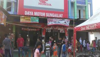 Gelar Semarak Hondanesiaku, Daya Motor Sungailiat Hibur Masyarakat Desa Karya Makmur