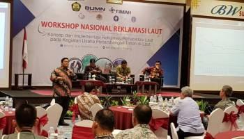 Gelar Workshop Nasional Reklamasi Laut, PT Timah Pastikan Pertambangan Laut Bisa Berdampingan dengan Usaha Lain