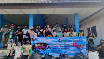 Gelar World Cleanup Day 2020, Becak Babel Ajak Komunitas Lain Memilah Sampah