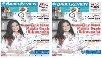 Generasi Z Babel Masih Ogah Wirausaha, Temukan Selengkapnya di Babel Review Edisi 53