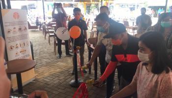 Gerai JCO Donuts Diresmikan Walikota; Investasi di Sini Tak Ada Wani Piro..!
